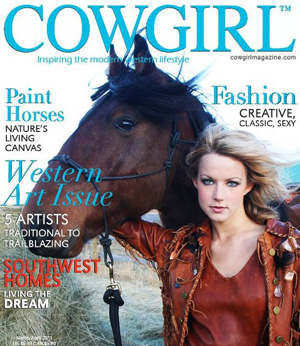 cover of cowgirl magazine